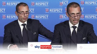 ESL players will be BANNED from World Cup | UEFA's Aleksander Ceferin reacts to Super League plans