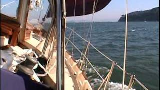 Sailing San Francisco Bay on a Bristol Channel Cutter