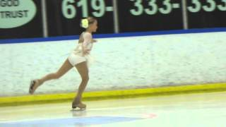 Kenadee Lucker Ice Skating Competition