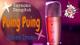 Karaoke dangdut Puing Puing - Rhoma Irama