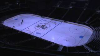 STAPLES Center - Making of the LA Kings Ice 2011
