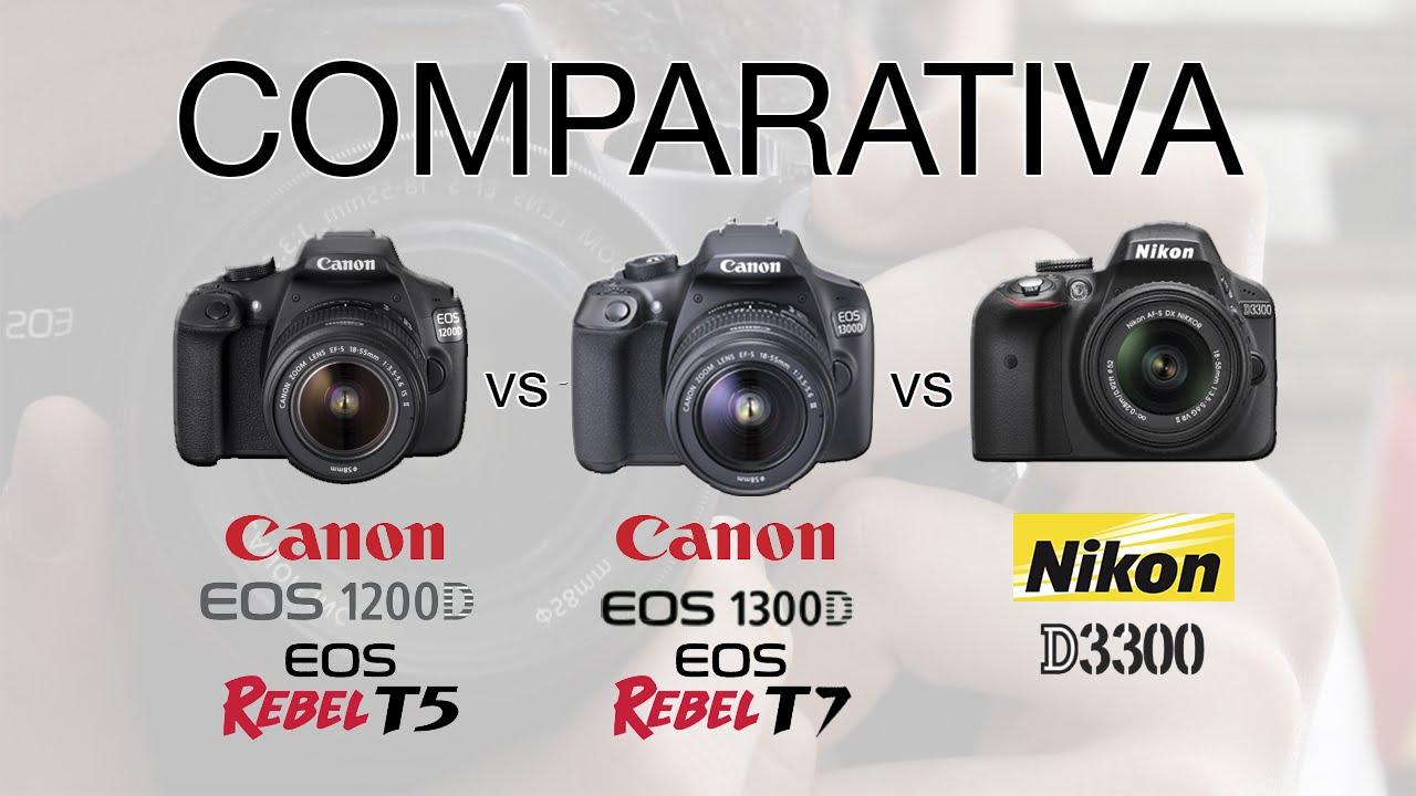 An 225 Lisis Canon Eos 1300d Rebel T6 Vs Canon 1200d Y Nikon