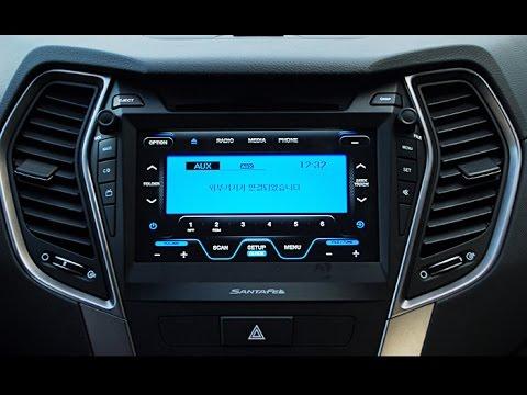 Hyundai santa fe штатная магнитола прошивка