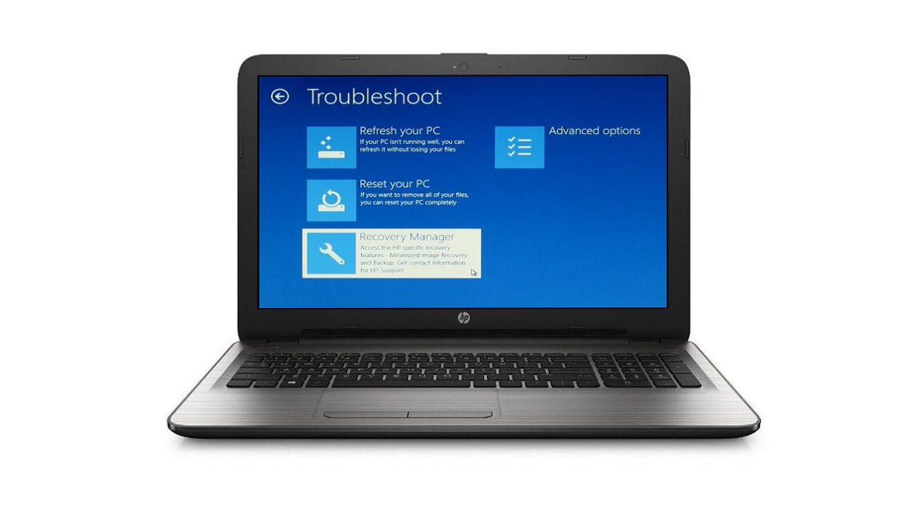how to restore hp 15 laptop to factory settings