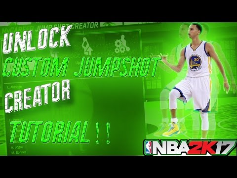 how to create the best jumpshot in nba 2k17
