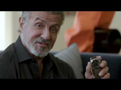 Sylvester Stallone Presents Five Watches He Is Selling At Auction
