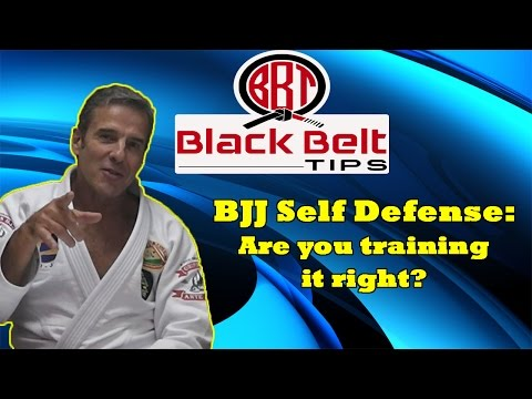 Black Belt Tips: Pedro Sauer on Self Defense in BJJ