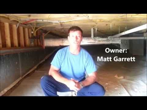 Sealed Crawl Space Raleigh