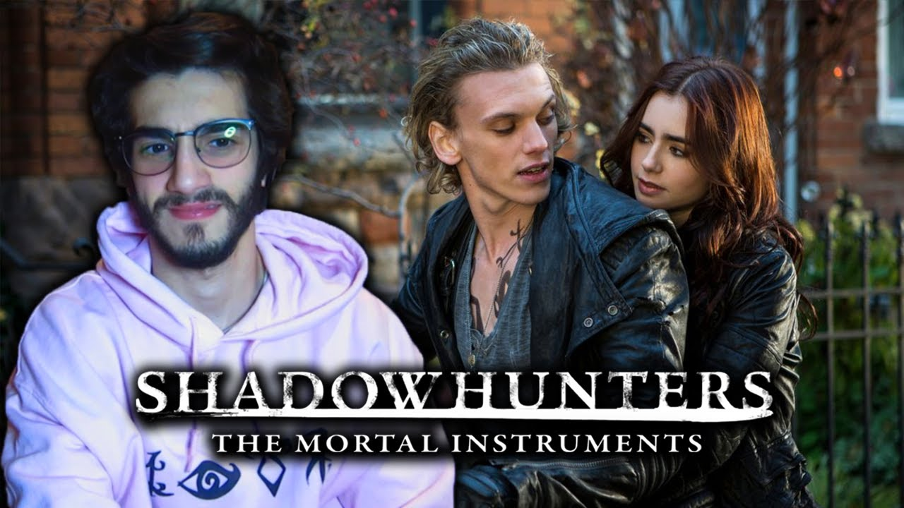 Download Shadowhunters fan watches *THE MORTAL INSTRUMENTS: CITY OF BONES* FOR THE FIRST TIME