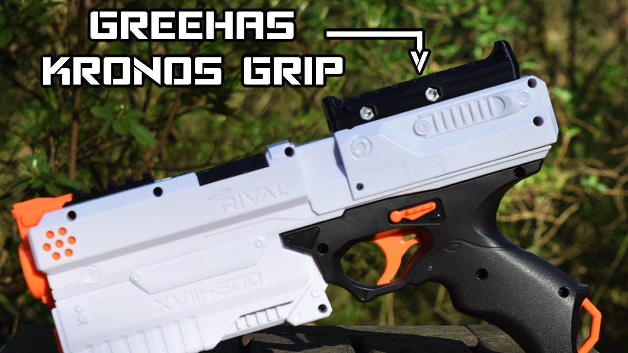 Review: Greehas Nerf Rival Kronos Grip