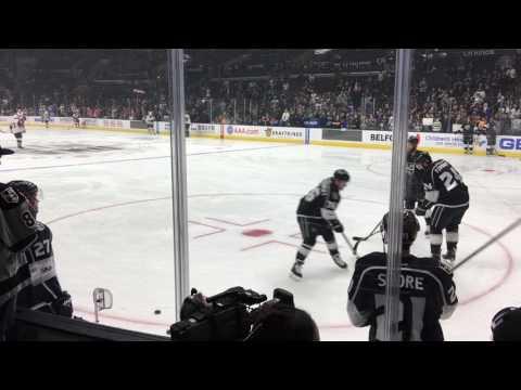 2017-04-02 Los Angeles Kings Hockey Game Warm Up