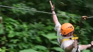 Flight Of The Gibbon Experience Teaser, Chiang Mai, Thailand