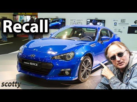Subaru Recalls 400,000 Cars, Here's What Happened