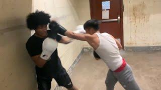 Bronx vs Upstate BOXING FIGHT