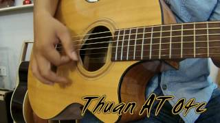 GTGuitarshop guitar review - Ân Guitar A55c (Quilted Maple) Vs Thuận Guitar AT-04c
