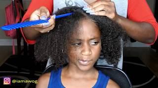 2D Twist w/beads   Kids Natural Hairstyles   IAMAWOG