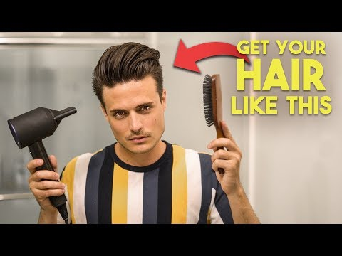 The BEST Blow Dry Technique For AMAZING Hairstyles | Flat Wrap Tutorial