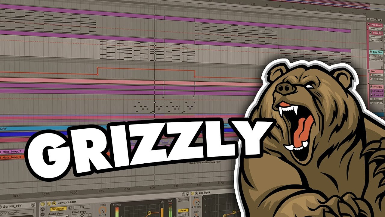 Hybrid Trap Grizzly | Sample Pack (Drums, Melodies, Serum Presets, FX)
