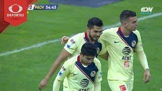 Doblete de Martín | América 3 - 2 Pachuca | Copa Mx - Octavos - Cl 19 | Televisa Deportes
