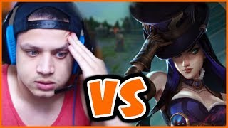 My Pocket Pick Caitlyn vs TYLER1 & TSM SPICA - League of Legends