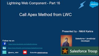 Call Apex Method From LWC | Lightning Web Component PART 16
