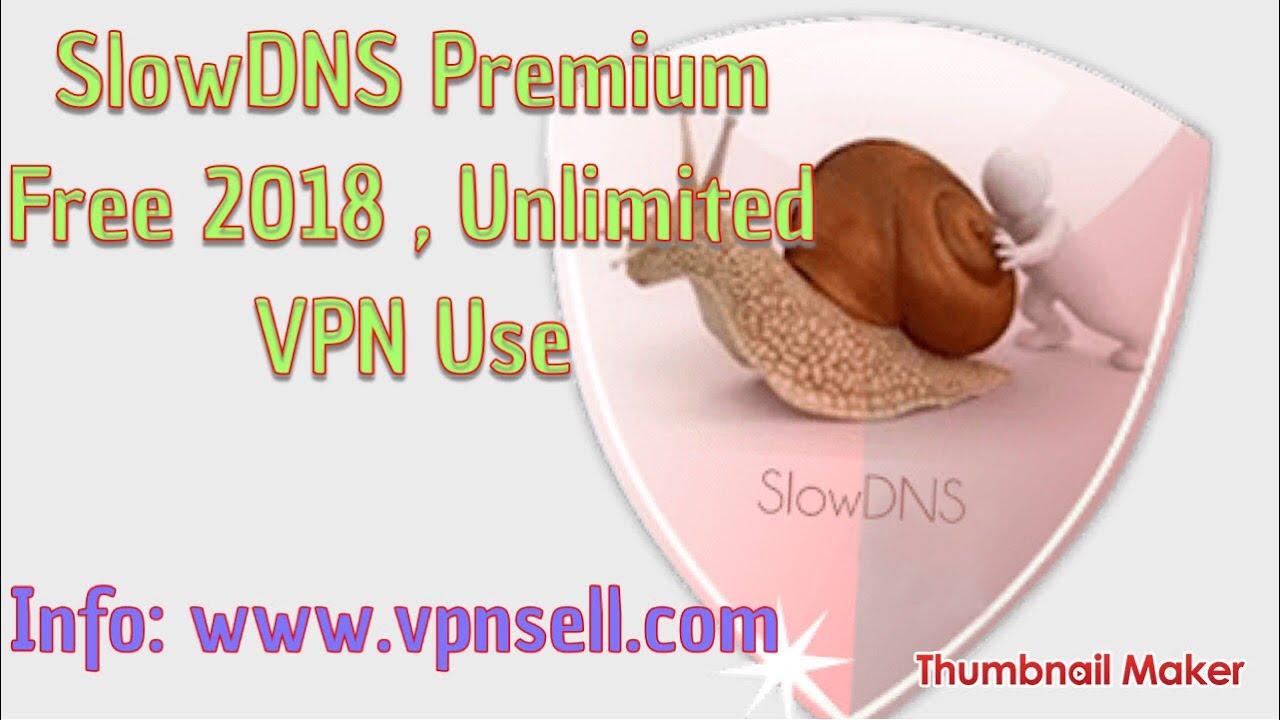 slow dns premium apk mod 2018