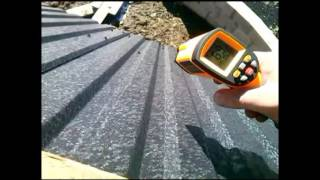 FREE  ENERGY sun - roof . = 76C' - 02.2017  # Słońce ,darmowa energia...