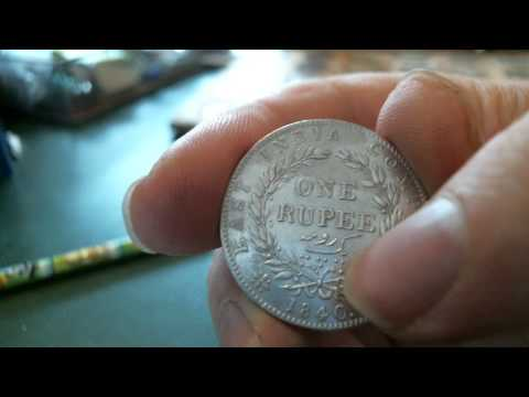 The coins channel 12 -- India 1840 rupee