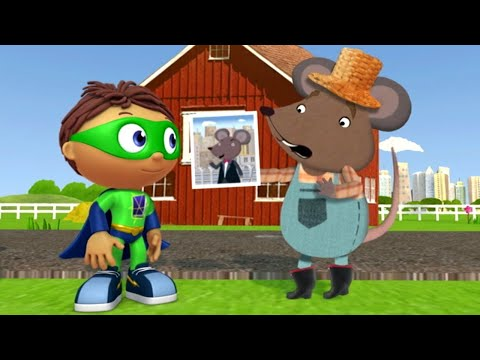 Super WHY! Full Episodes English ✳️ The City Mouse and The Country Mouse ✳️  S01E50 (HD)