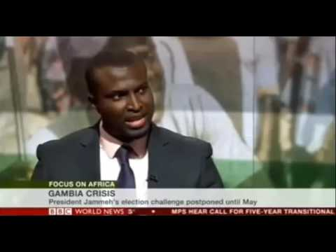 Gambia Crisis: Gambian Human Rights Lawyer On BBC News
