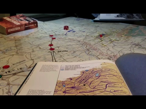 Beyond the Rhine, History, Map & VC's. 01