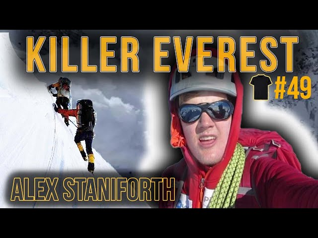 Stranded On Everest at 18 | Alex Staniforth | Chris Thrall's Bought The T-Shirt Podcast #48