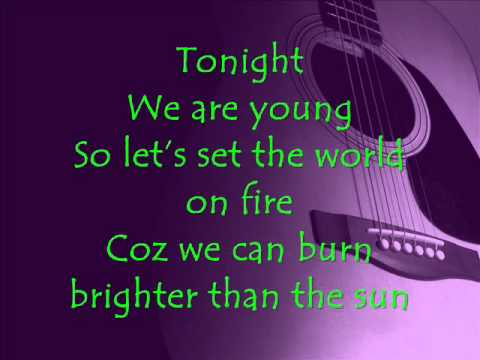 Boyce Avenue Cover We Are Young Lyrics By Fun Ft