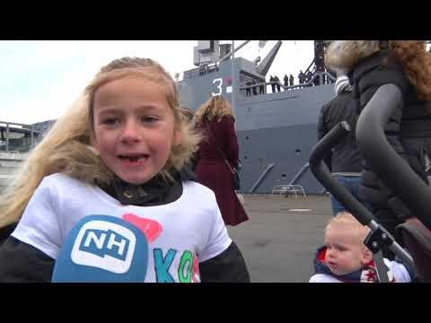 Bemanningsleden zeeschip Karel Doorman terug uit Sint Maarten | NH NIEUWS