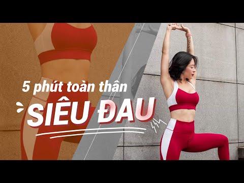 5 phút mỗi ngày tập động tác này để dáng thon thả   Workout #120 ♡ Hana Giang Anh