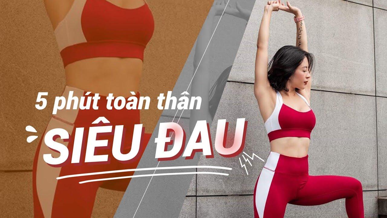 5 phút mỗi ngày tập động tác này để dáng thon thả | Workout #120 ♡ Hana Giang Anh