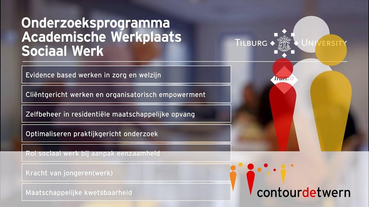Verwonderlijk Tilburg University - Sociaal Werk WM-33