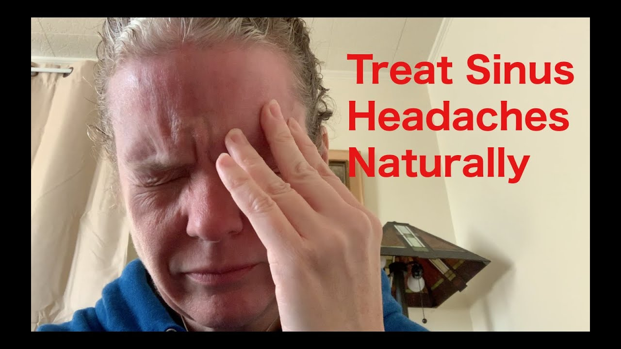 how to cure a sinus headache without medicine