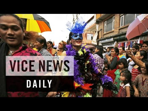 VICE News Daily: Nepal's LGBT Activists Rally For Constitutional Rights