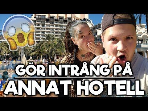 Smyger in på ett annat hotell - Gran Canaria Vlogg