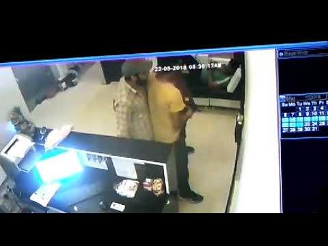 Jordan chaudhary murder cctv footage । shree ganganagar golikand