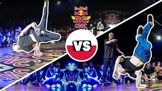 Red Bull BC One Cypher Poland 2019 | Final B-Boys: Thomaz vs. Nikita