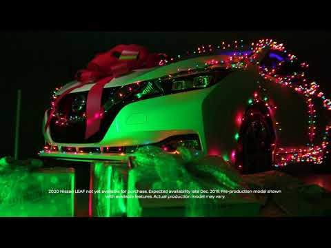 2020 Nissan LEAF Holiday Jingle