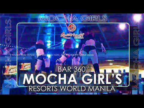[BAWAL BATA DITO?] HALA GALING GUMILING? | Bar 360 at Resorts World Manila - MOCHA Girls.