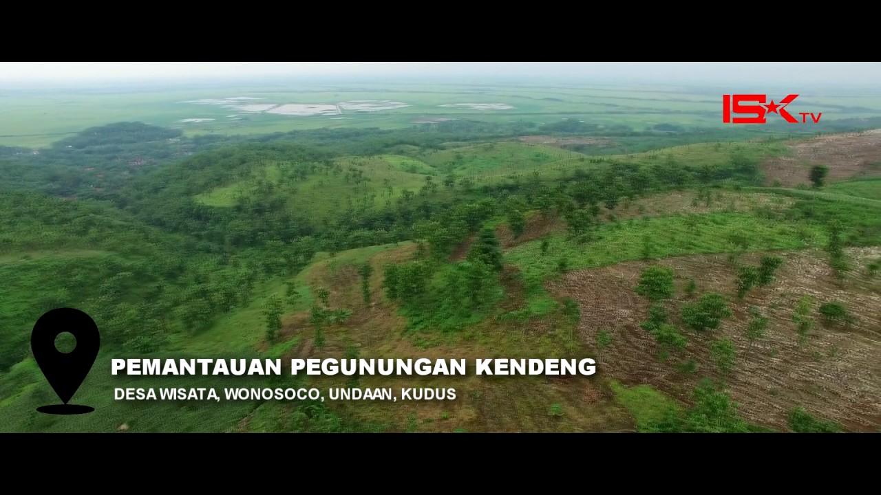 Isk Tv Desa Wisata Wonosoco Undaan Kudus Pantauan Drone Youtube