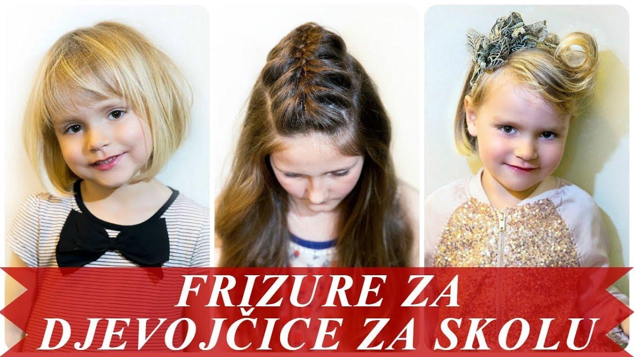 Lijepe Frizure Za Djevojčice Za Skolu 2018