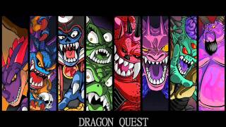 Repeat youtube video Dragon Quest: Final boss music compilation (As heard in DQIX)