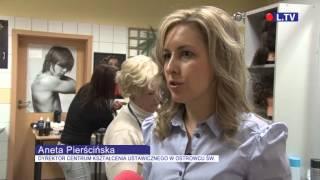 Pokaz fryzur sylwestrowych w CKU w Ostrowcu Św.