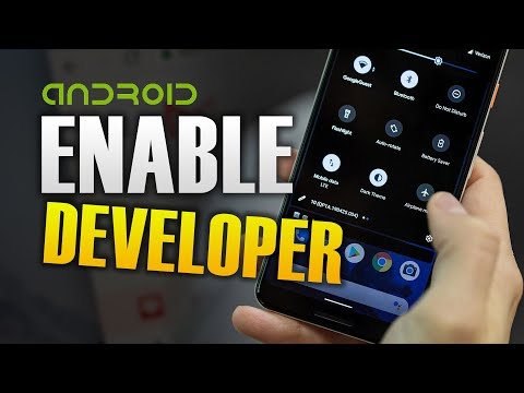 HOW TO ENABLE DEVELOPER OPTIONS ANDROID