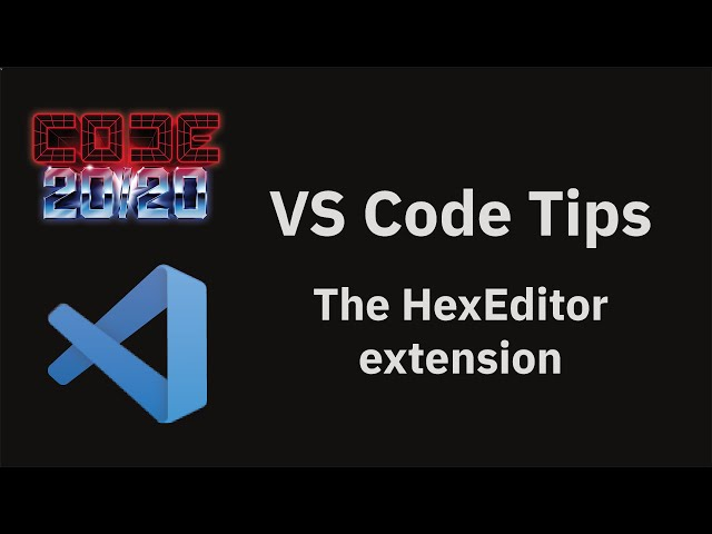 The HexEditor extension